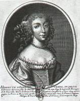 Henriette of England, fist Philippe's wife and Louis' lover
