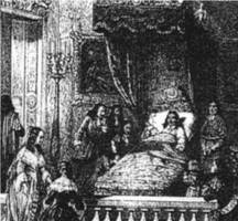 Death of Louis XIV