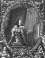 Louis XIV praying